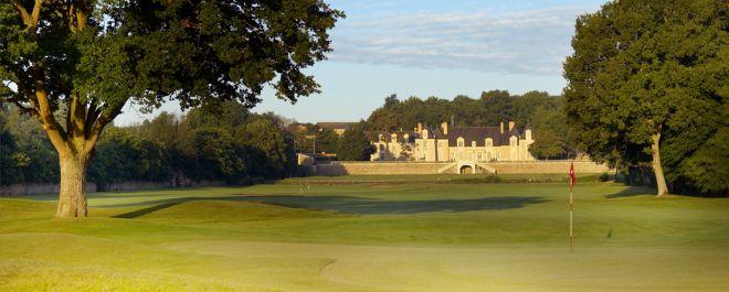 Green au golf du Château de la Perrière, à Avrillé