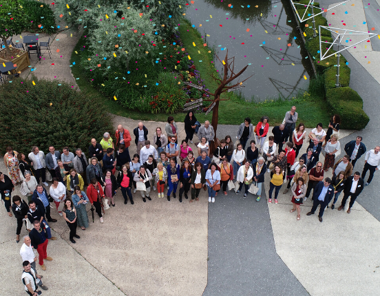 30 ans AGE - Photo groupe drone